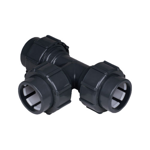 quick coupling / T / PVC
