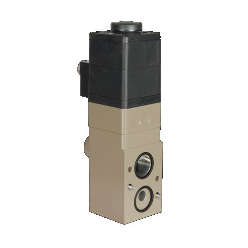 poppet pneumatic directional control valve / solenoid-operated / 3/2-way / standard