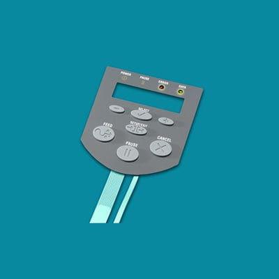 Rubber keypad / membrane Molex