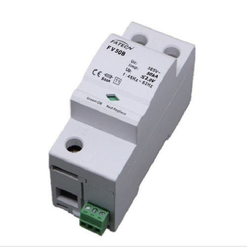 Type 1 surge arrester / AC / DIN rail FV50B/1-xxx S series FATECH ELECTRONIC (FOSHAN) CO., LTD