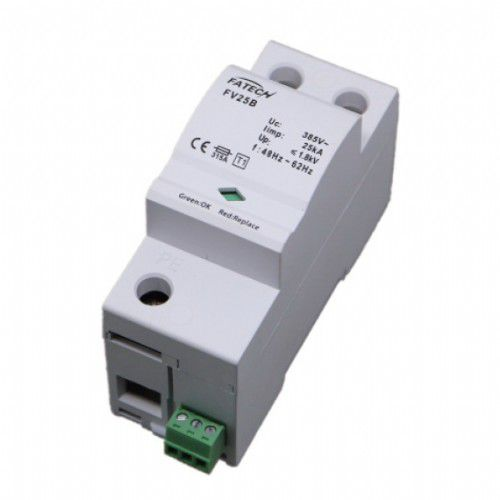Type 1 surge arrester / AC / with fault indication / single-pole FV25B/1-255(S) FATECH ELECTRONIC (FOSHAN) CO., LTD