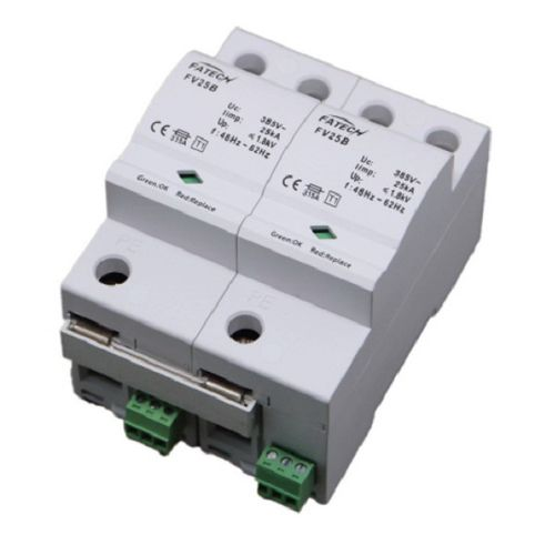 type 1 surge arrester / AC / single-phase / with fault indication