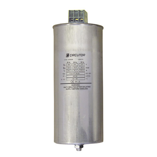 film capacitor / encapsulated / power / three-phase