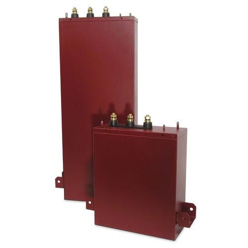 encapsulated capacitor / power / three-phase / PFC