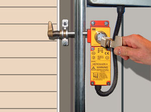 Electromechanical lock / for doors / brass Hercules CASTELL SAFETY INTERNATIONAL