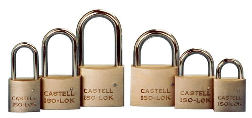 Security padlock CASTELL SAFETY INTERNATIONAL