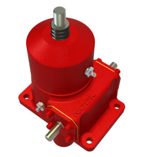 Worm screw jack / translating ball screw / motorized NOOK INDUSTRIES