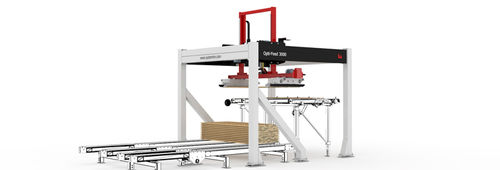 Mechanical feeder / automatic / for wood Opti-Feed 3000 System TM