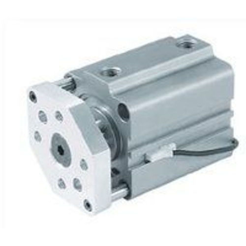 pneumatic cylinder / double-acting / with guided piston rod
