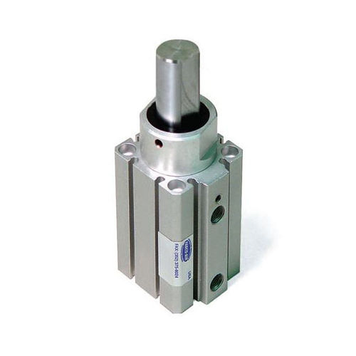 pneumatic cylinder / double-acting / stopper