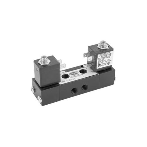 Spool pneumatic directional control valve / electrically-operated / 3/2-way 18 series FABCO-AIR