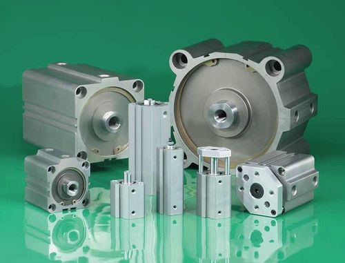 pneumatic cylinder / hydraulic / double-acting / compact
