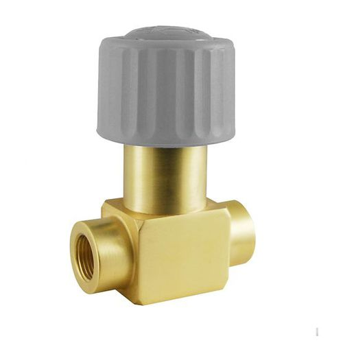 bellows solenoid valve / direct-operated / 2/2-way / for gas