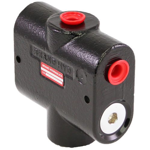 Hydraulic flow divider / fixed-priority / cast iron BG series BRAND HYDRAULICS