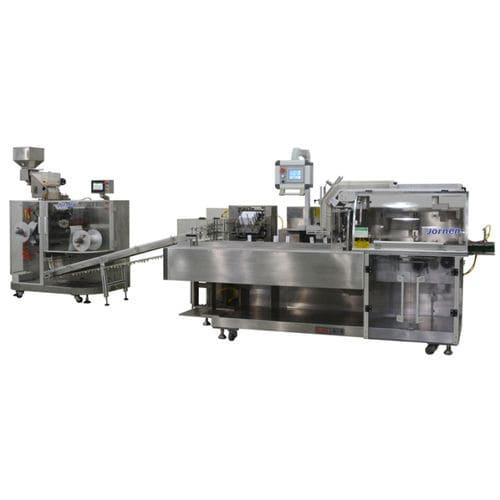 Vertical cartoner / for blister packs Jornen Machinery Co., Ltd.