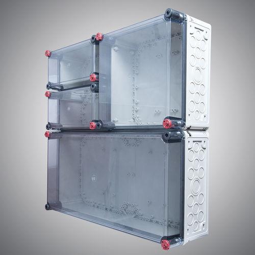 splice box / wall-mount / rectangular / PC