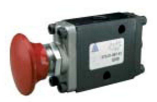 Manual valve / pneumatically-operated / control / for compressed air OMNI 375 series ALKON