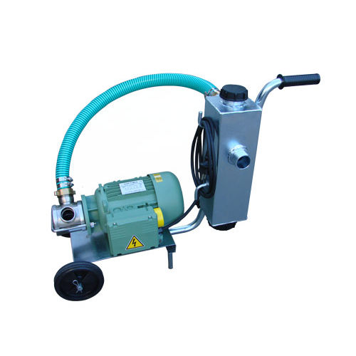 impeller pumping unit / for ponds / with stone separator