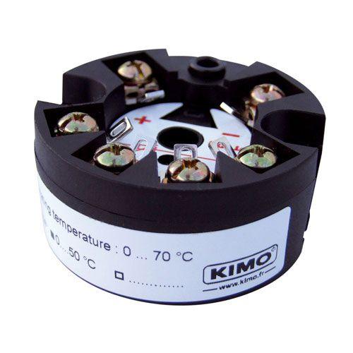 probe head-mounted temperature transmitter / thermocouple / 4-20 mA / process