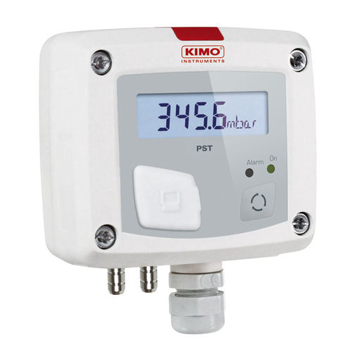 gas pressure switch / electronic / with digital display / IP65