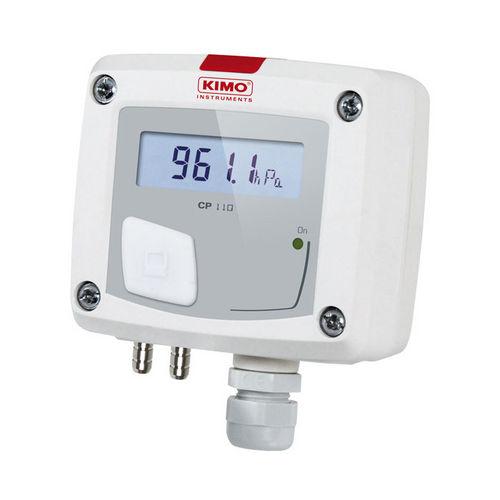 atmospheric pressure sensor / membrane / analog / wall-mount