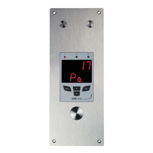 Alphanumeric displays / 7-segment / electronic / built-in CPE 310-S KIMO