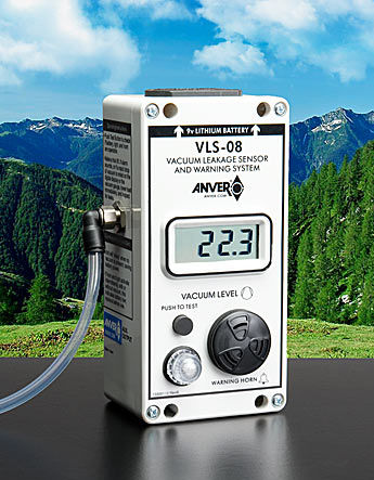 gas leak detector / pressure / vacuum / with digital display