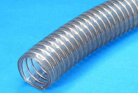 chemical product hose / foodstuffs / for vacuum / handling