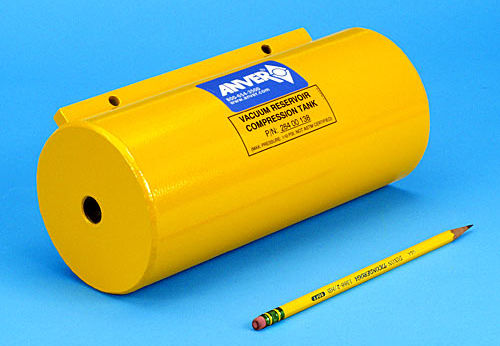 vacuum tank / steel / horizontal