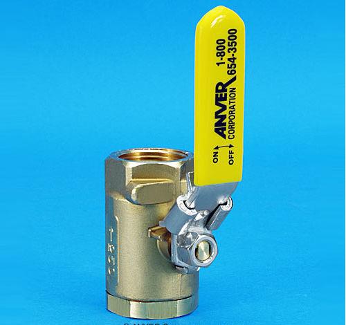 ball valve / manual / vacuum / compact