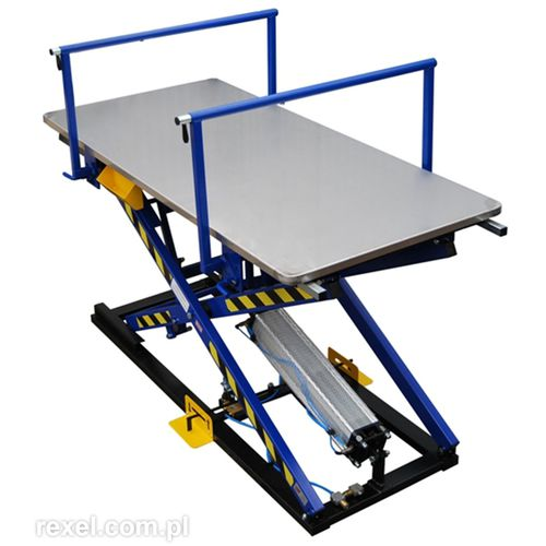 Scissor lift table / foot-operated / pneumatic ST-3/BR REXEL