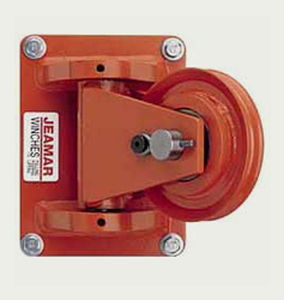 Rotating pulley / for cables 3 500 - 83 000 lb, ø 4.25'' - 26.34'' | SS series Jeamar Winches