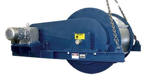Magnetic drum separator / metal / for heavy-duty applications Dings