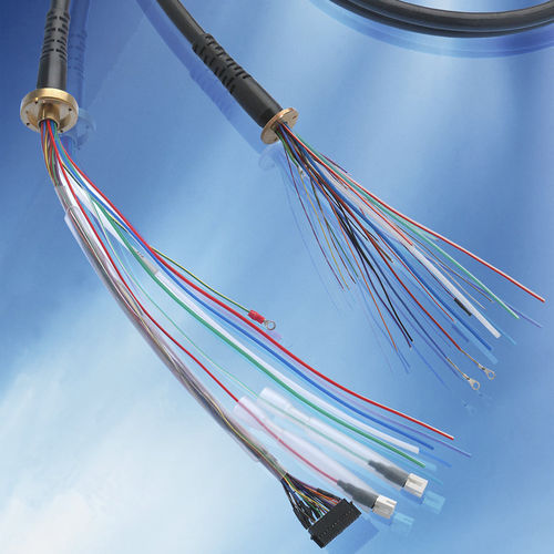 hybrid electrical cable / insulated / composite