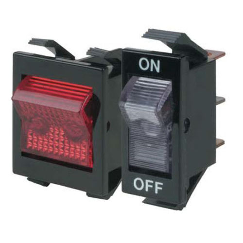 Rocker switch / single-pole / nylon / control 1600/2600 series Eaton Commercial Controls