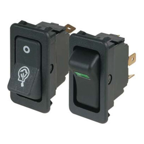 Rocker switch / single-pole / electromechanical / heavy-duty 8004/8005 series Eaton Commercial Controls