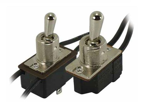 lever switch / single-pole / general purpose / DC