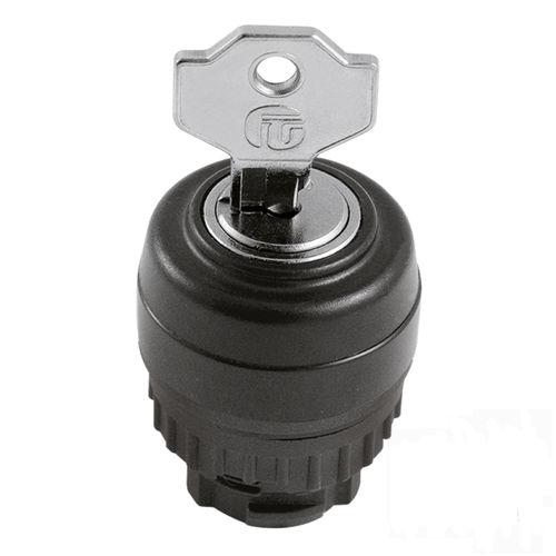 key lock switch / 3-pole