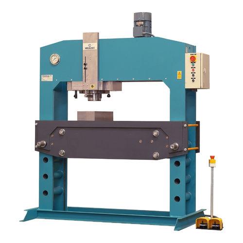 electro-hydraulic press / straightening / vertical / workshop