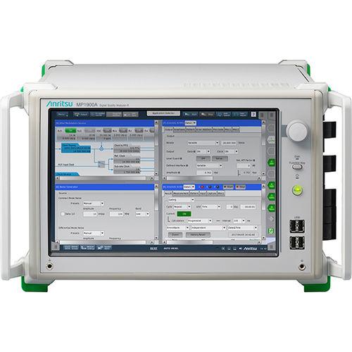 communication network analyzer / power quality / benchtop / high-performance