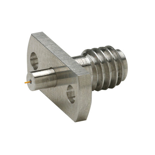 RF connector / radio-frequency / coaxial / cylindrical