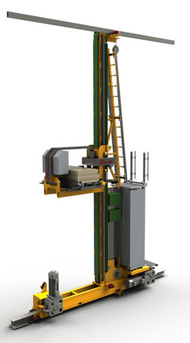 Vertical automatic storage system / with stacker crane One2Many Cassioli