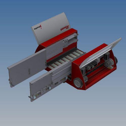 Shuttle storage system MultiPicker Cassioli