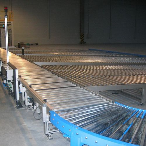 Roller conveyor / handling / curved / horizontal Cassioli