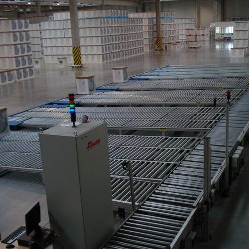 Roller conveyor / automatic / handling / transport Cassioli