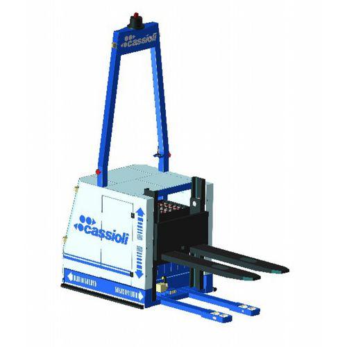 electric forklift / AGV / for warehouses / loading