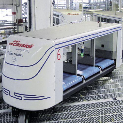 Transfer shuttle SLS  Cassioli