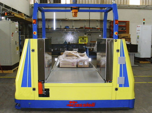 Handling automatic guided vehicle / for loading / for warehouses / for unloading Cassioli
