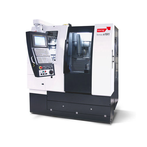 CNC milling-turning center / horizontal / 5-axis / high-performance Bumotec S191 V  Starrag