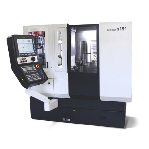CNC milling-turning center / horizontal / 7-axis / with linear motor Bumotec s191H Starrag